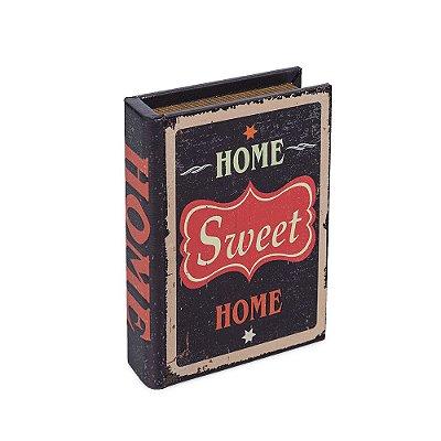 Livro Caixa Pequeno Decorativo Home Sweet Home