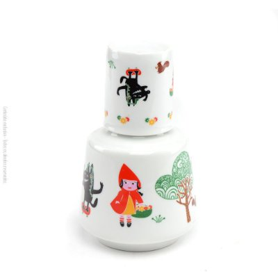 Moringa de Porcelana Chapeuzinho Vermelho