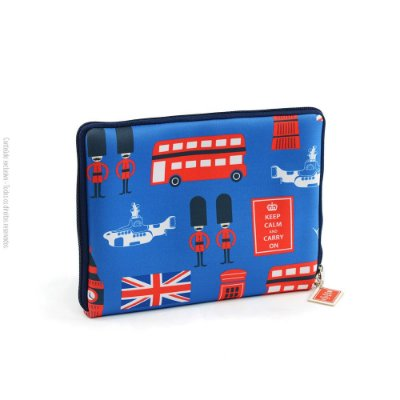 Case para Tablet Zíper London