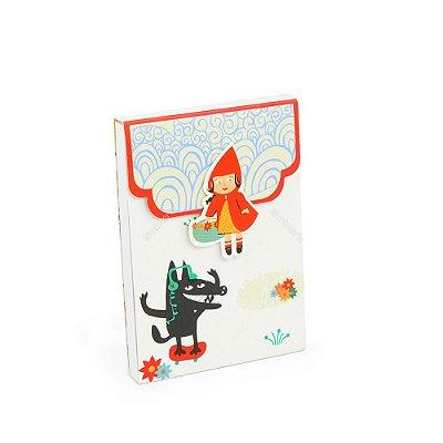 Caderno de Notas Imã Chapeuzinho Vermelho