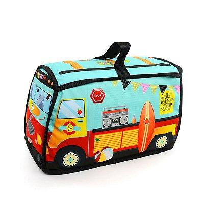 Bolsa Food Truck para Brinquedo Verde