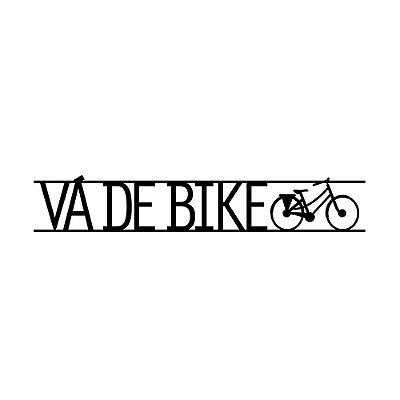 Plaquinha Papo de Parede Bike
