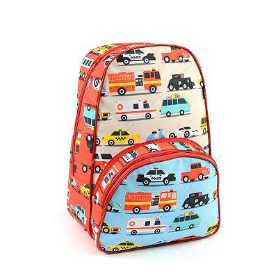 Mochila Escolar Kids Carros