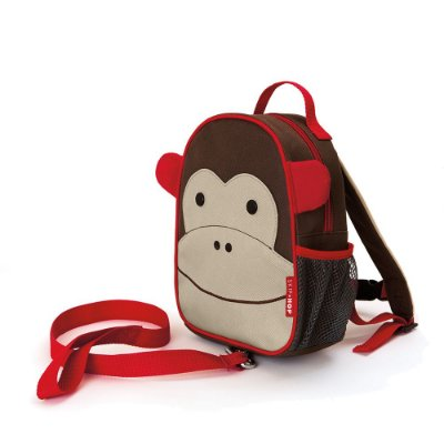 Mochila com Cinto Zoo Macaco Skip Hop