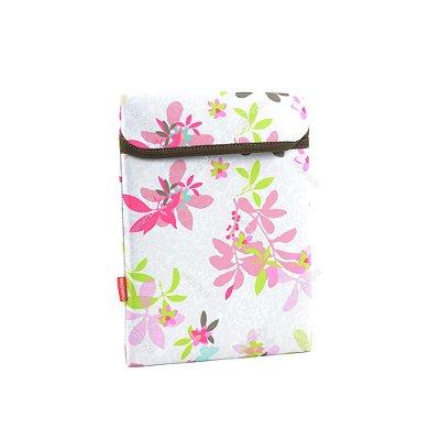 Case para Tablet Floral Borboleta