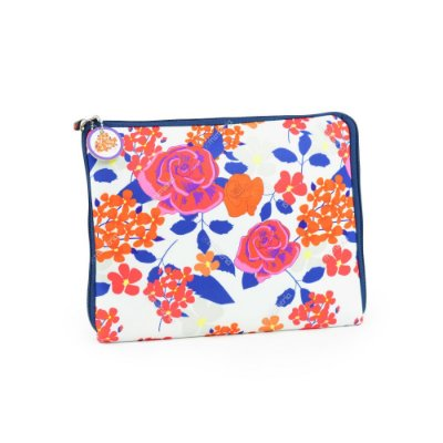 Case para Tablet Zíper Floral Color
