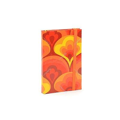 Caderninho Capa Dura com Elástico Tulipa