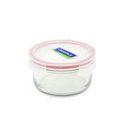 Pote de Vidro Refratário Hermético Redondo 400 ml