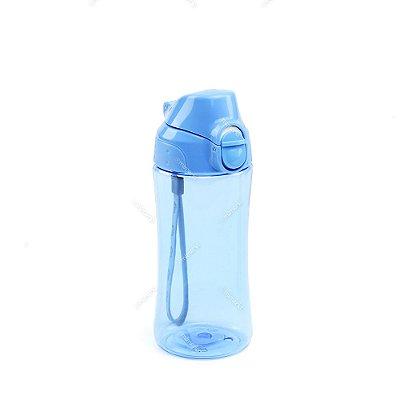 Garrafa Squeeze Azul 400 ml