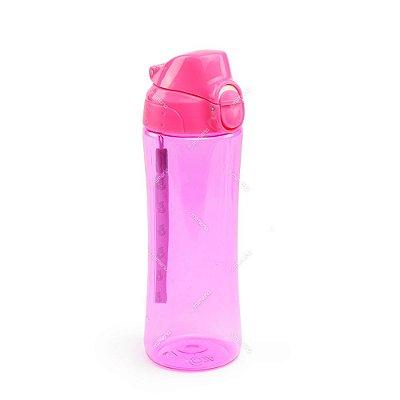Garrafa Squeeze Rosa 550 ml