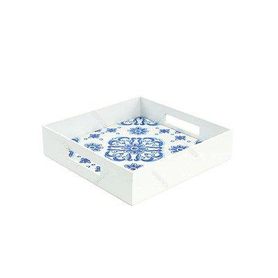 Bandeja Pequena Azulejo Colonial