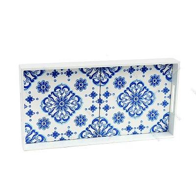 Bandeja Dupla Azulejo Colonial