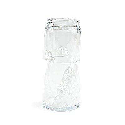 Moringa de Vidro Henna Branca 500 ml