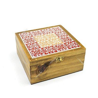 Caixa de Chá Pinus Portuguesa Vinho