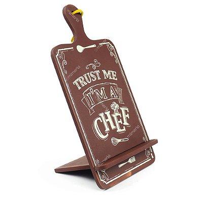 Tábua de Apoio para Livro e Tablet I'm a Chef