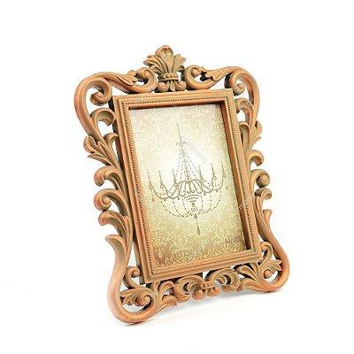 Porta Retrato Imperial Envelhecido Cobre 13x18