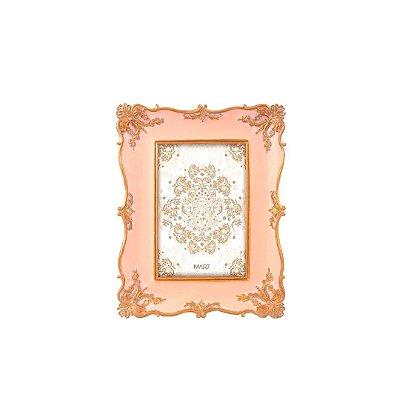 Porta Retrato de Resina Vintage Rosa 10x15