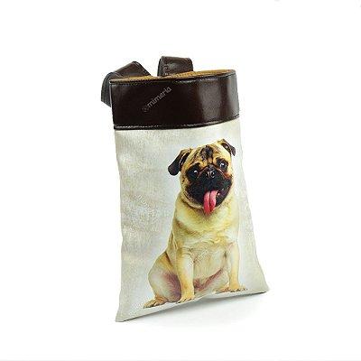 Lixeira de Carro Cachorro Pug