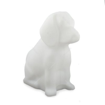 Luminária Cachorro Toby Branco