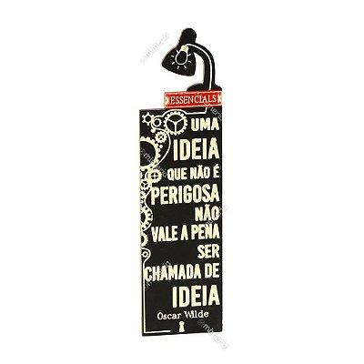 Marcador de Livro Luminária Ideia