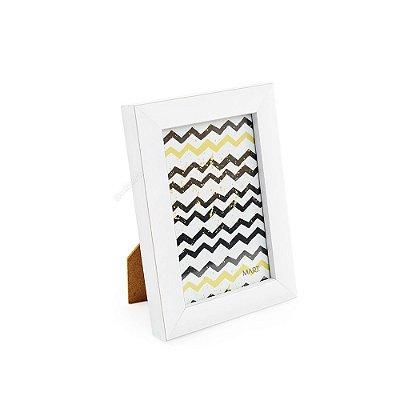 Porta Retrato em Madeira Branco 10x15