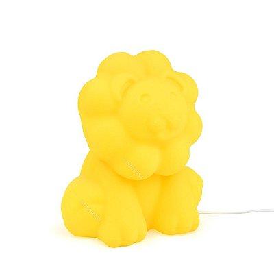 Luminária Leão Amarelo