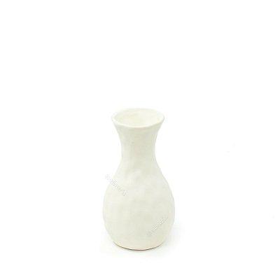 Vaso em Cerâmica Pequeno Branco