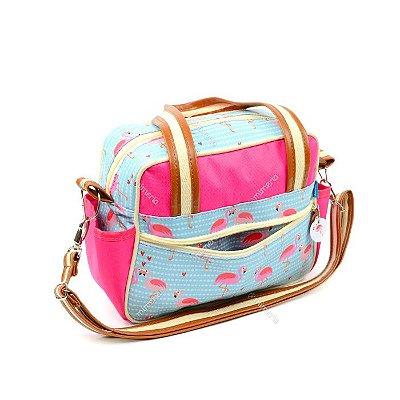Bolsa de Viagem Pequena Flamingo