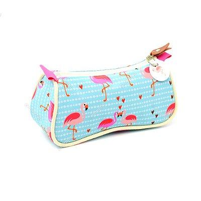 Necessaire de Bolsa Flamingo