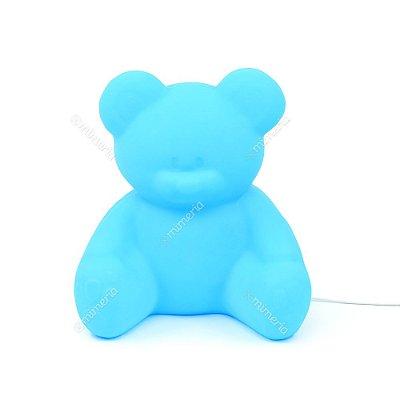 Luminária Ursinho Azul