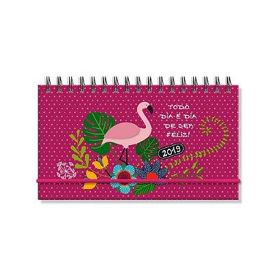 Agenda Semanal Flamingo Mini 2019