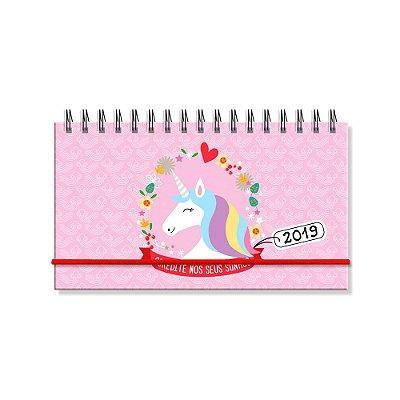 Agenda Semanal Unicórnio Mini 2019