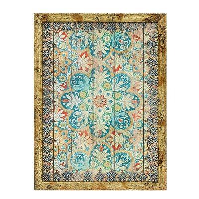 Quadro em Canvas com Moldura Mandala Pequeno