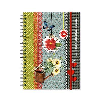 Caderno Universitário Poesia 200 folhas