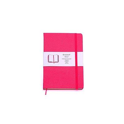 Caderneta sem Pauta Rosa Pequena