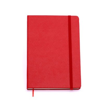 Caderneta sem Pauta Vermelha Média