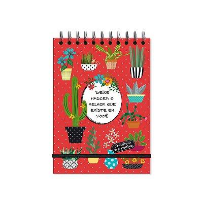 Caderno de Ideias Cactos