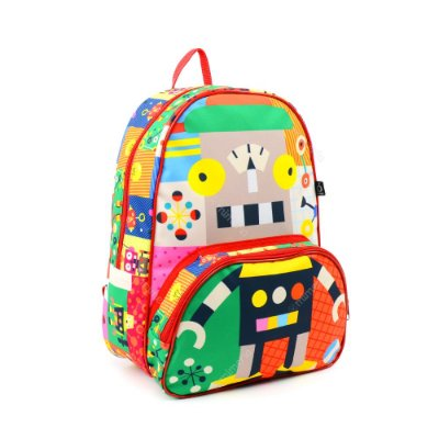Mochila Escolar Kids Robô