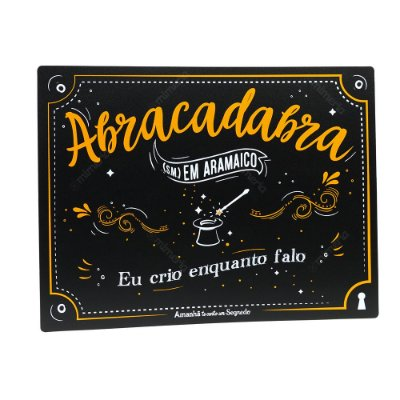 Jogo Americano Abracadabra