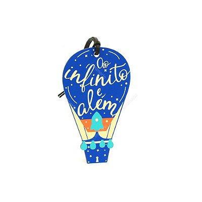 Plaquinha Tag Balão Infinito