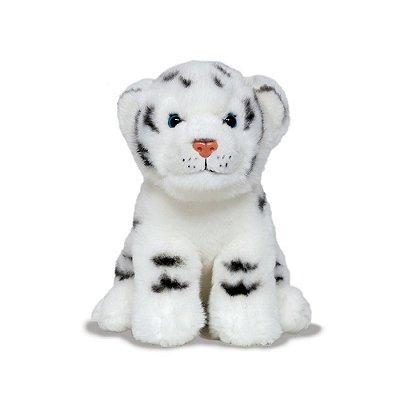 Tigre Branco de Pelúcia Jungle