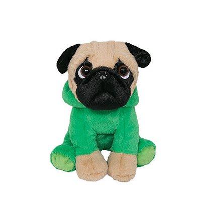 Cachorro Pug de Pelúcia Dino