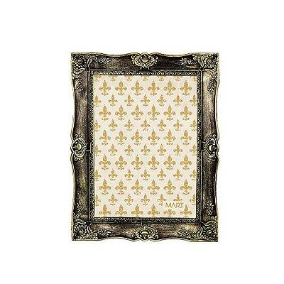 Porta Retrato Vintage Dourado Envelhecido 13x18