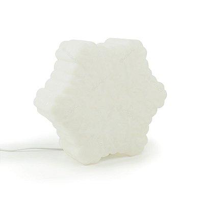 Luminária Floco de Neve Branco