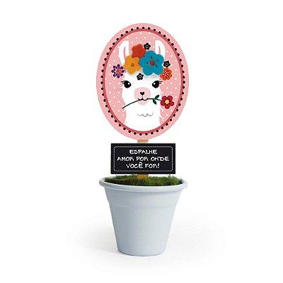 Mini Vaso Lhama