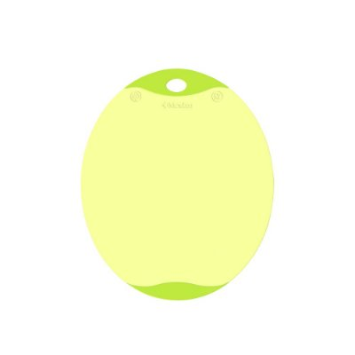 Tábua de Corte Oval Antibacteriana Verde Pequena Neoflam