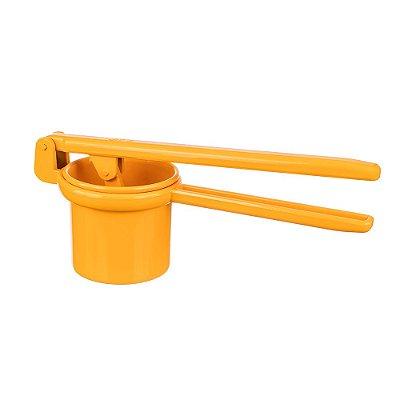 Espremedor de Batata Amarelo em Alumínio