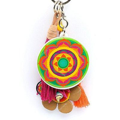 Chaveiro Mandala Color