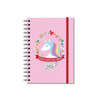 Caderno Pontilhado Unicórnio