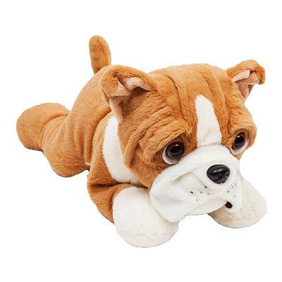 Cachorro Bulldog de Pelúcia Fofucho M